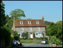 Alfriston Sussex - An old house