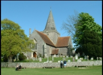 Alfriston East Sussex - St Andrews church