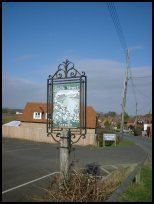 Bodle Street East Sussex - The village sign