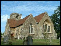 Brasted Kent - St Martins church