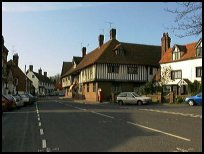 Brenchley Kent - Main road