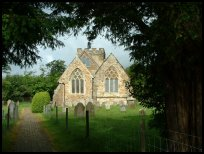 Brightling East Sussex - St Thomas à Becket church