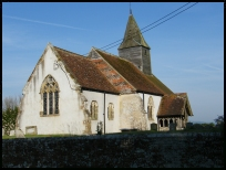 Chalvington Sussex - St Bartholomew church