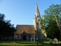 Chiddingly East Sussex - The church