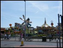 Fun fair on Hastings seafront