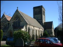 St Peters church (Rusthall Kent)